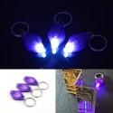 UV LED-es kulcstartós lámpa