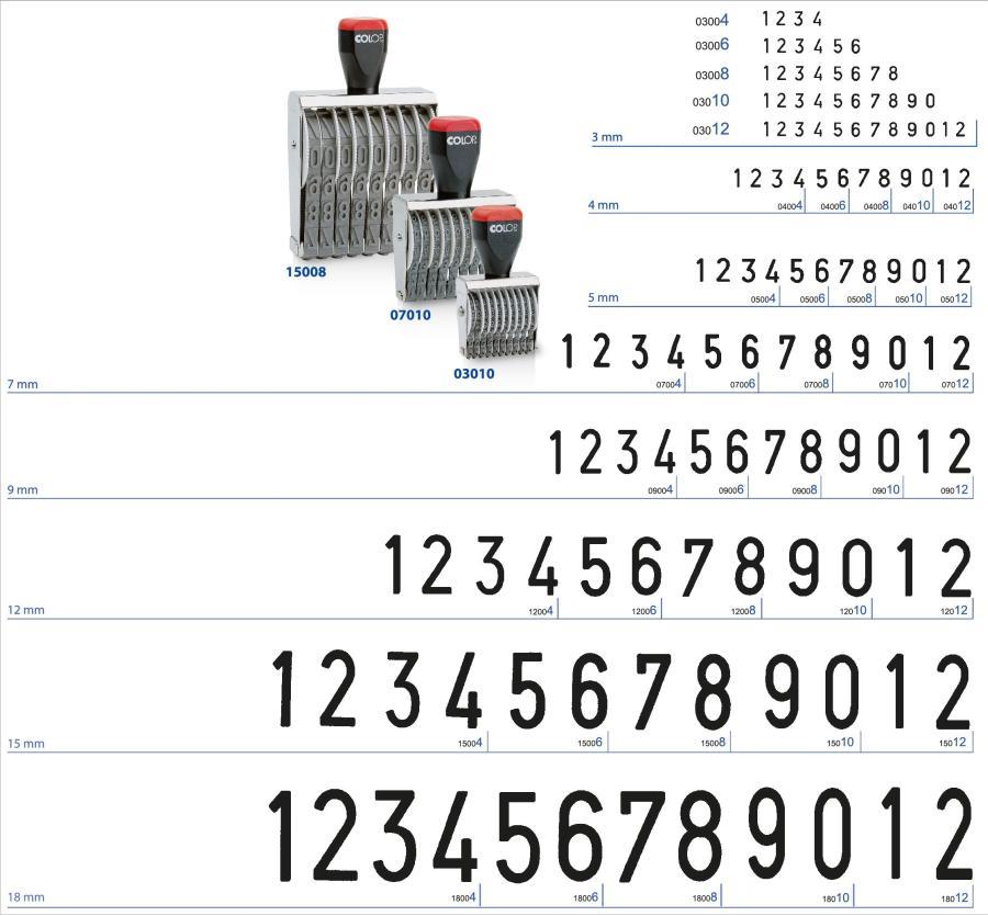COLOP kézi számbélyegzők